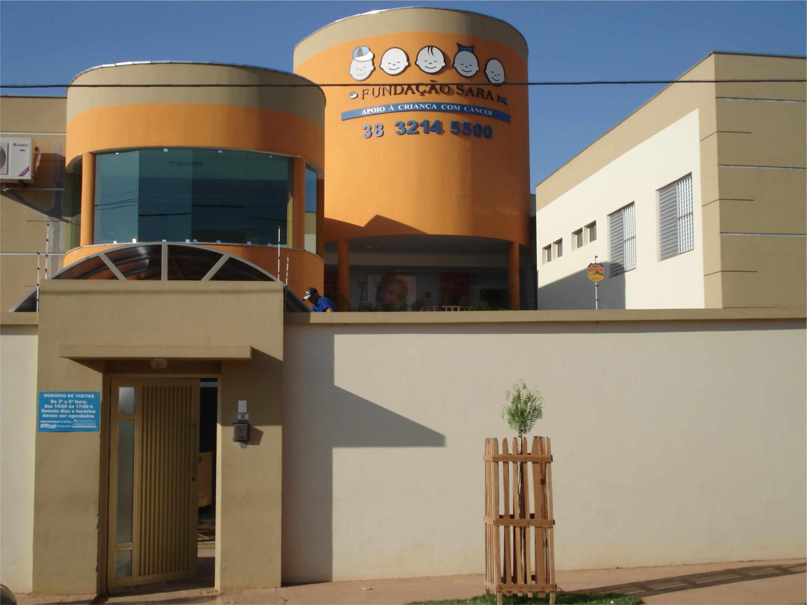 Construção da sede da Fundação Sara, em Montes Claros